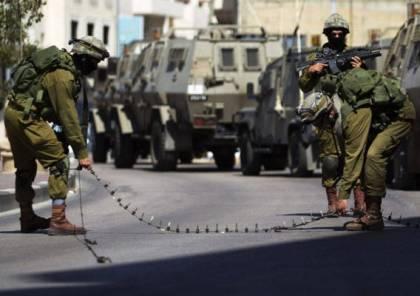 الاحتلال يرفع حالة التأهب في الضفة خوفاً من أي عمليات خلال أعياده