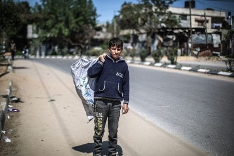 مركز الميزان: 64% نسبة الفقر في قطاع غزة