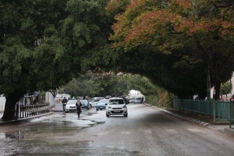 حالة الطقس - الأرصاد الجوية - انخفاض ملموس على درجات الحرارة - غائماً جزئياً - طقس فلسطين