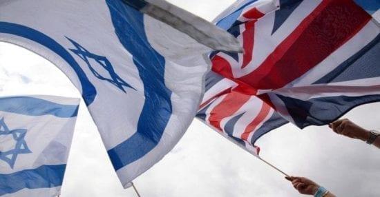 """""""إسرائيل"""" تطالب بريطانيا بضم المستوطنات ضمن اتفاقية التجارة الحرة"""