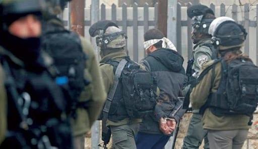 حملة اعتقال الاحتلال بالضفة