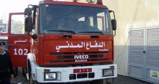الدفاع المدني برام الله يتعامل مع 40 حادثة يوم أمس