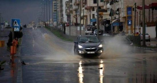 تعرف على جديد منخفض التنين وموعد اشتداد الأمطار في فلسطين