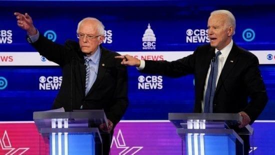 الثلاثاء الكبير .. بايدن يفوز ب9 ولايات وكاليفورنيا تختار ساندرز