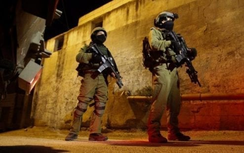 الاحتلال يكثف تواجده العسكري في جنين بحثاً عن أسيري جلبوع