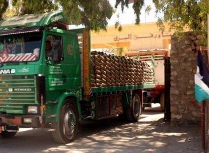 مصر تلبي نصف الحاجة الطبيعية لقطاع غزة من الإسمنت لا تشمل الإعمار