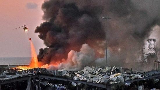 رويترز : ضحايا انفجار مرفأ بيروت - الأونروا - الانفجار المدمر