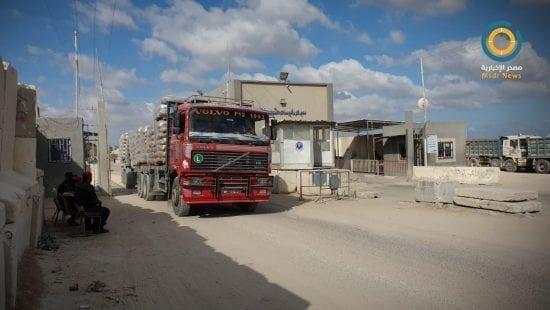 إحباط إدخال سكر لغزة - معبر كرم أبو سالم