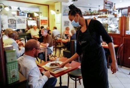 كورونا المطاعم