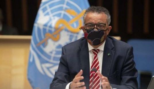 رئيس منظمة الصحة العالمية: هدفنا تطعيم 70 بالمئة من سكان العالم