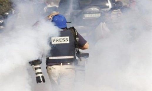 إصابة مصوران ومواطنون في قمع الاحتلال مسيرة سلمية بكفر قدوم