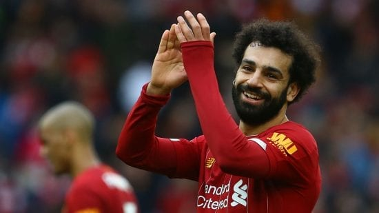 محمد صلاح يتوّج هدفه الـ100 في الدوري الإنجليزي الممتاز