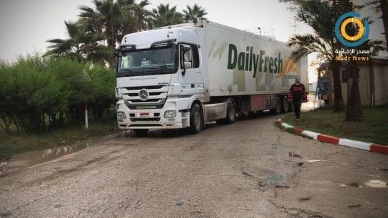فيديو.. وصول قافلة مساعدات إماراتيّة لدعم القطاع الصحي بغزة