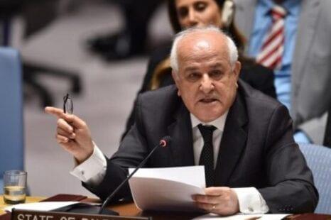 السفير منصور يعقد سلسة اجتماعات أممية بشأن الشيخ جراح