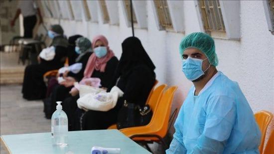 حصيلة كورونا في غزة