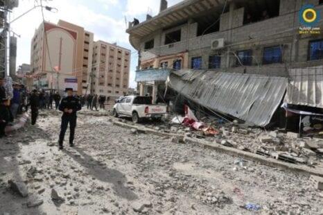أضرار المنخفض الجوي 2000 دولار بدل إيجار - غزة