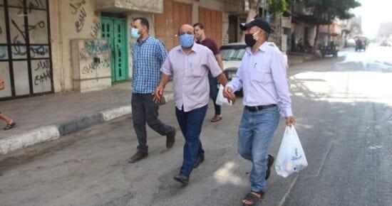 صحة غزة كورونا في فلسطين