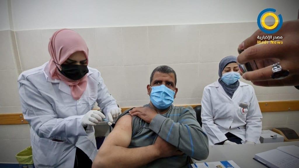 كورونا غزة نقاط تطعيم