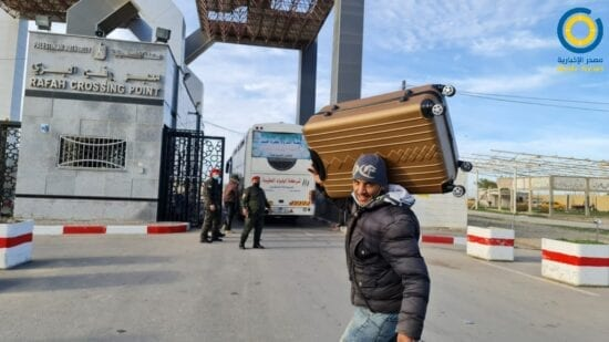معبر رفح - كشف تنسيقات مصرية - كشفاً جديداً للمسافرين عبر معبر رفح