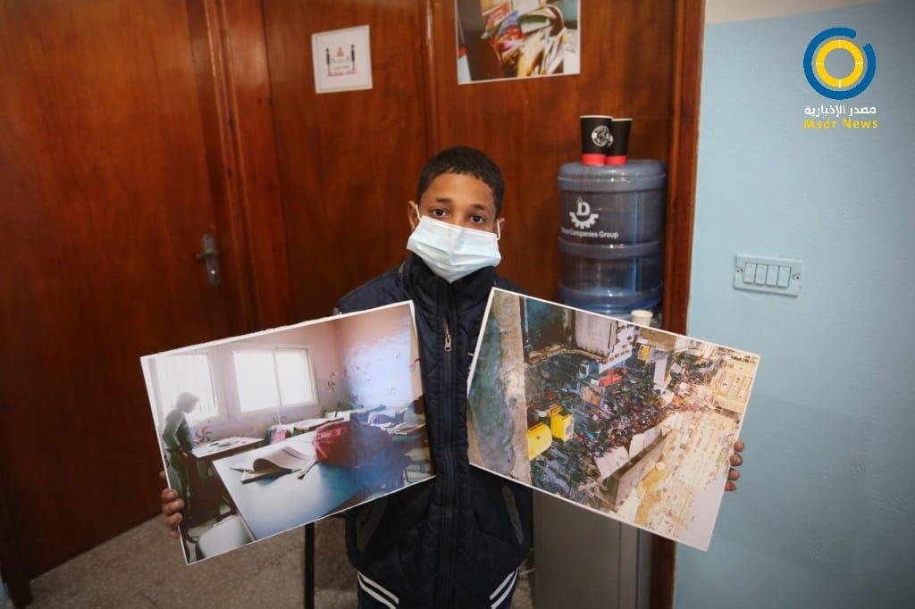 """إحياء الذكرى الأولى لـ """"حريق النصيرات"""" وسط قطاع غزة (صور)"""
