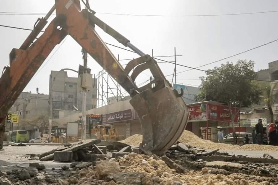 مسئولون لمصدر: لم يصل أي دولار لإصلاح البنى التحتية بغزة