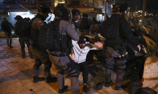مواجهات في أحياء القدس المحتلة واعتقالات في الضفة