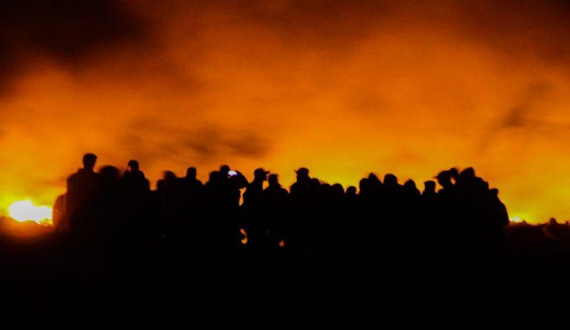 عودة فعاليات الإرباك الليلي على الحدود الشرقية لقطاع غزة
