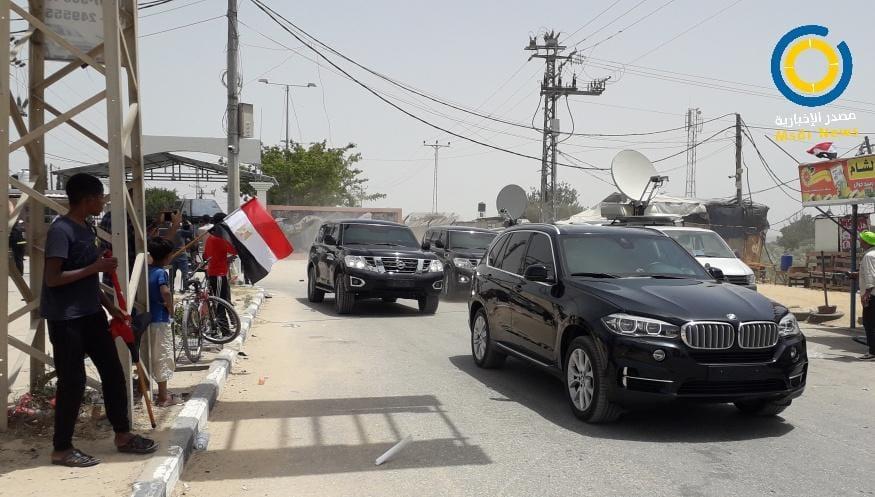 وصول الوفد المصري إلى غزة برئاسة عباس كامل للقاء الفصائل وبحث التهدئة