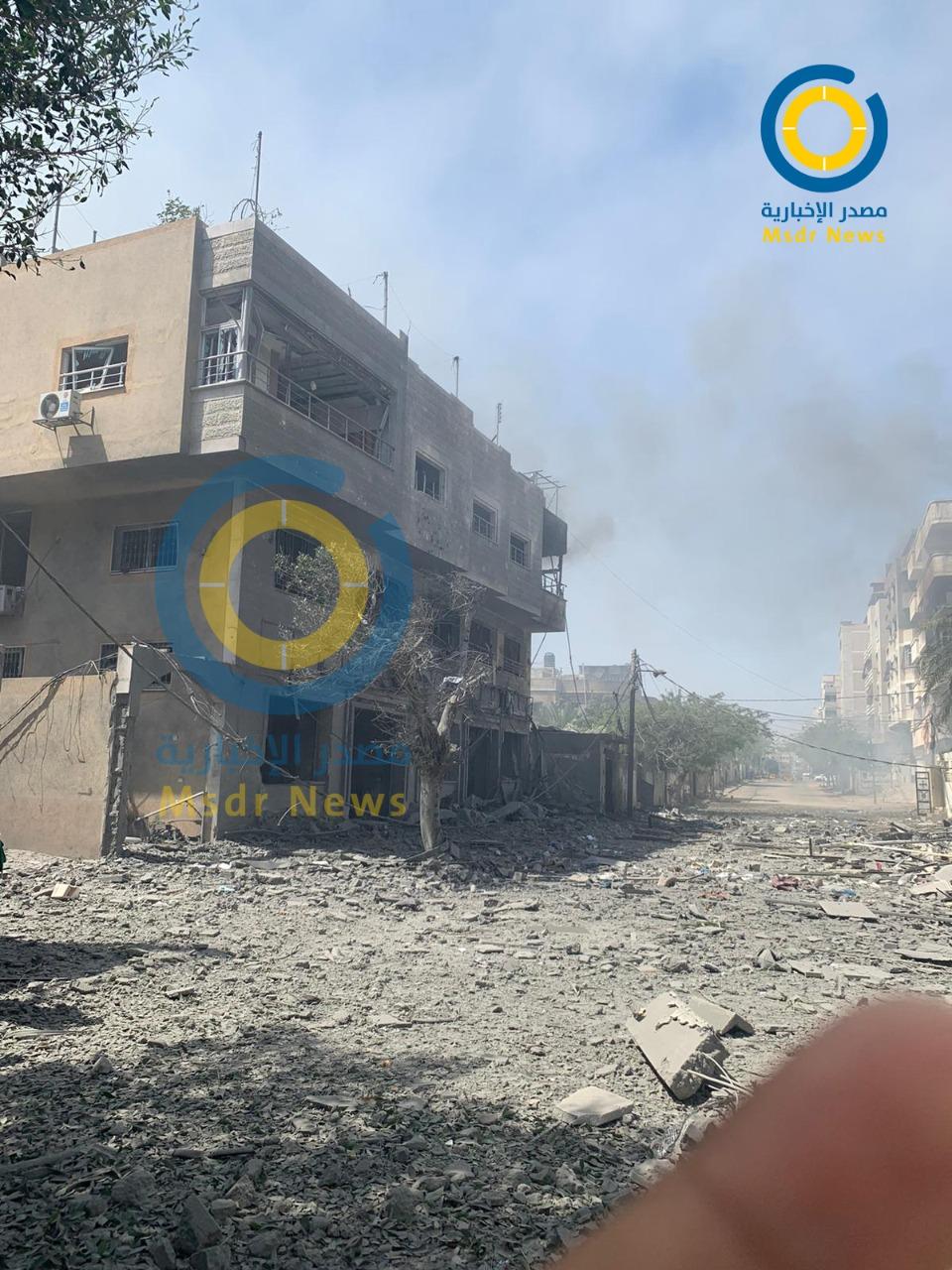 العدوان الإسرائيلي على غزة.. حصيلة خسائر 7 أيام من التصعيد