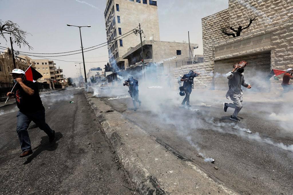 إصابات في قمع الاحتلال مسيرة كفر قدوم الأسبوعية بالذكرى الـ 54 للنكسة