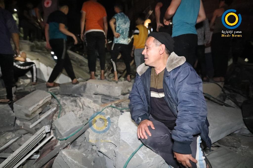 مجزرة مخيم الشاطئ - أبو عبيدة عائلة أبو حطب - العدوان على غزة