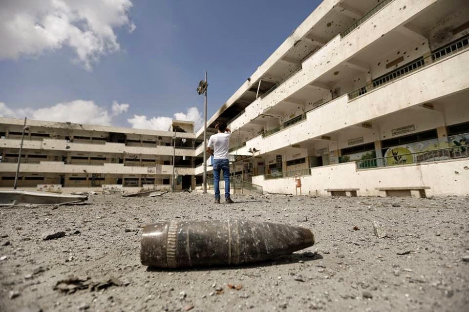 استهداف مدارس غزة العدوان - قرار وقف إطلاق النار - إنهاء العام الدراسي بغزة