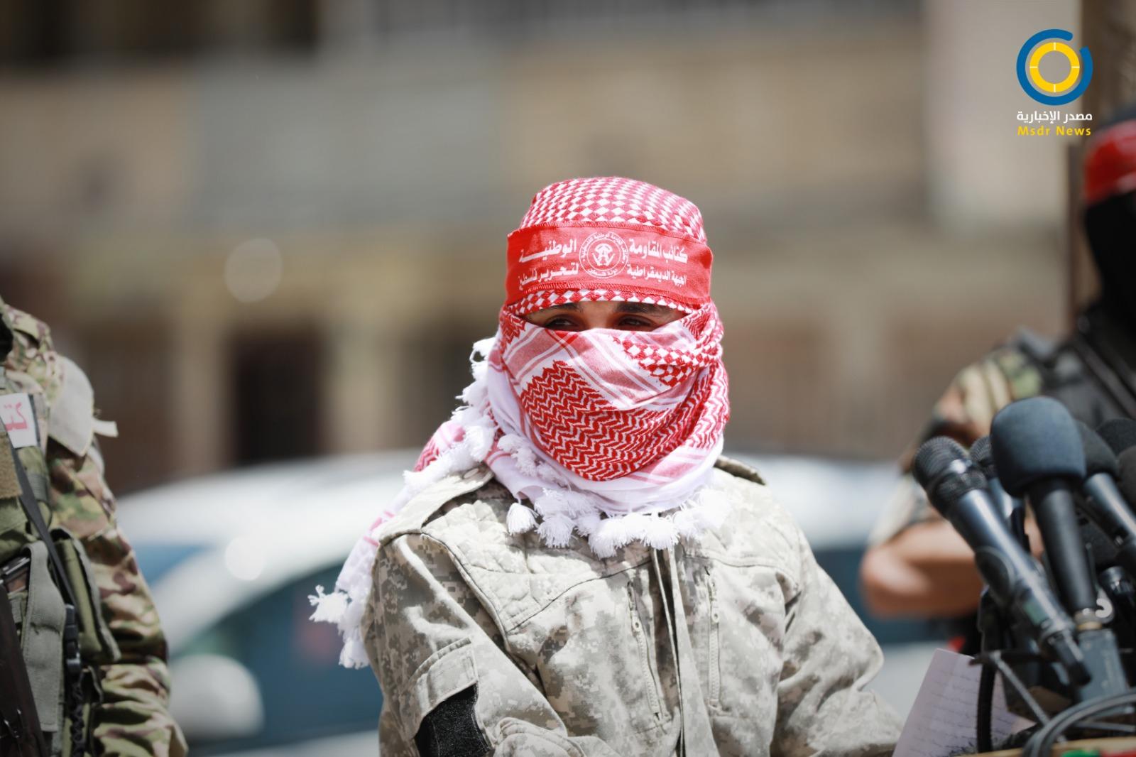 كتائب المقاومة الوطنية: نتابع عن كثب مجريات أحداث القدس