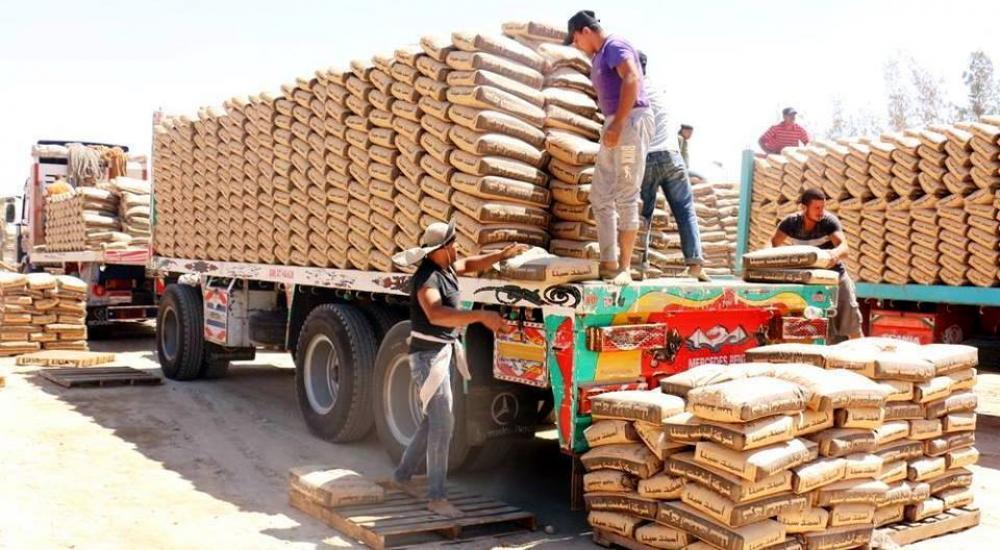 مواد الإعمار - الأشغال بغزة