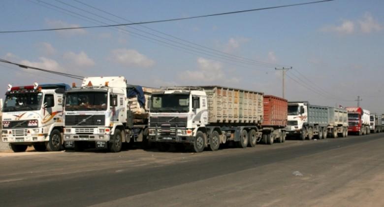 ناهض شحيبر لمصدر: 15 مليون شيكل خسائر شركات النقل على معبر كرم أبو سالم