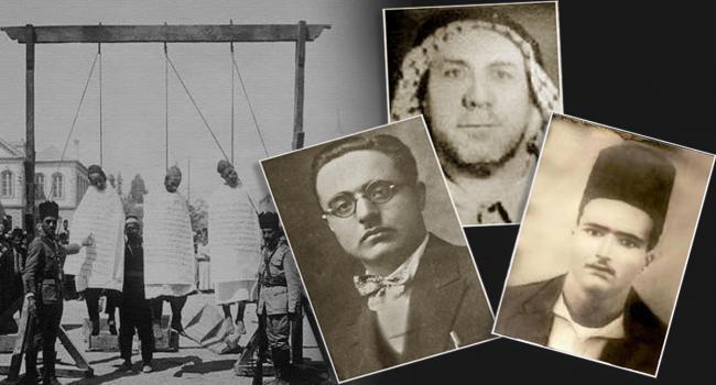 91 عامًا على إعدام شهداء ثورة البراق الأبطال الثلاثة