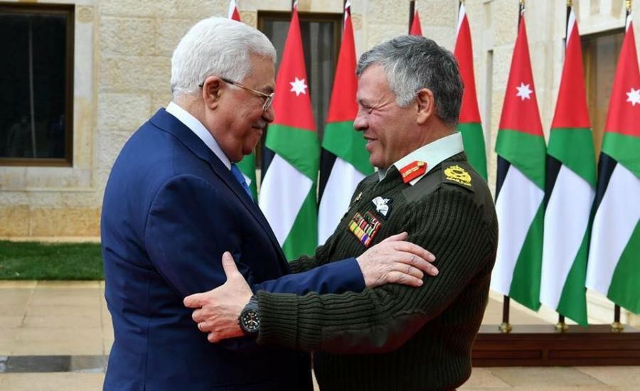 زيارة عباس للأردن