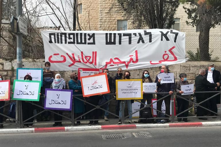 """سقوط مقترح """"إسرائيلي"""" للتسوية مع عائلات الشيخ جراح المهددة بالتهجير"""