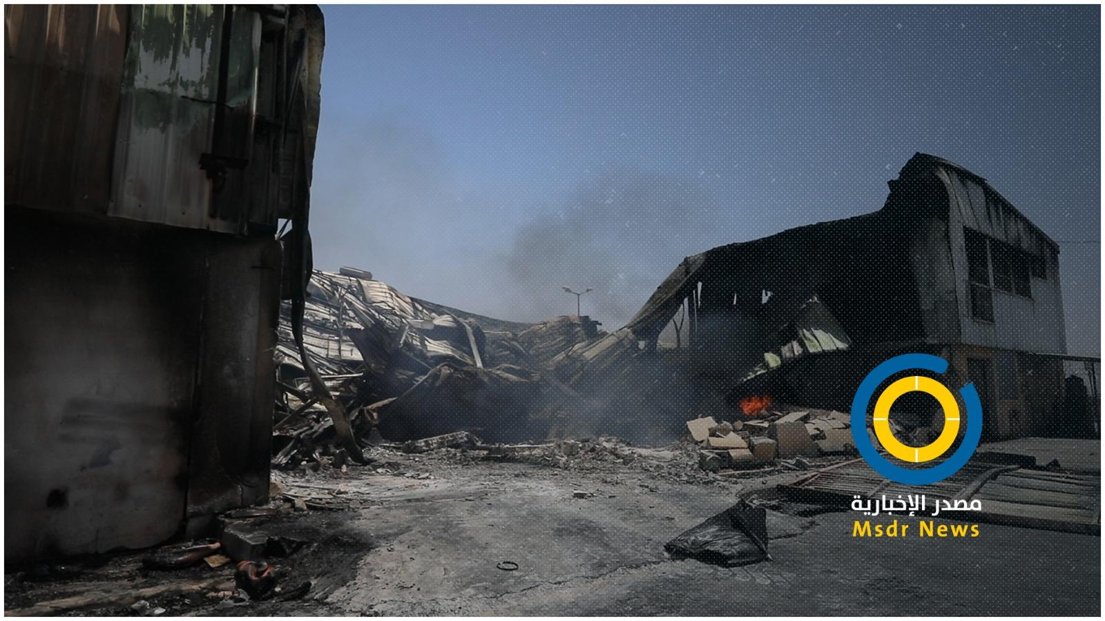 أبو إسكندر للنايلون.. دمره الاحتلال بالمنطقة التي كان يعتقد بأنها أمنة في غزة