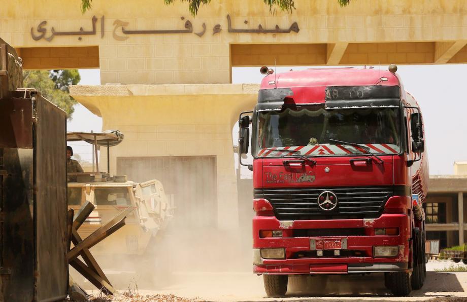 مصر تخفض الرسوم المفروضة على البضائع الواردة لقطاع غزة إلى 25%