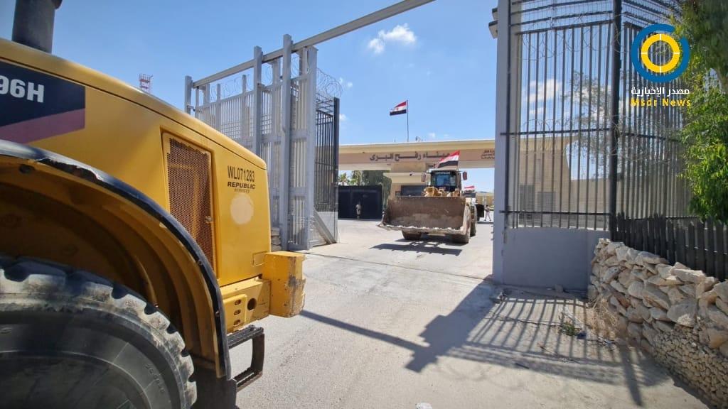 دخول معدات مصرية قطاع غزة