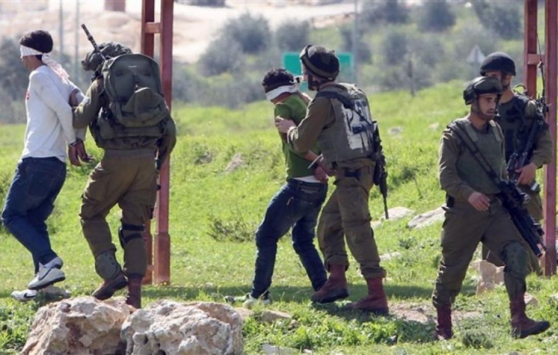 هيئة الأسرى اعتقالات الاحتلال في الضفة