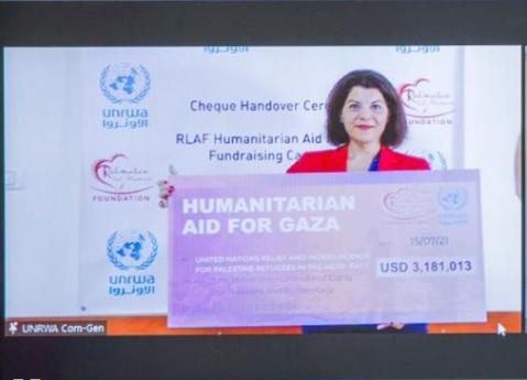 سنغافورة تقدم 3.18 مليون دولار للأونروا لدعم لاجئي غزة