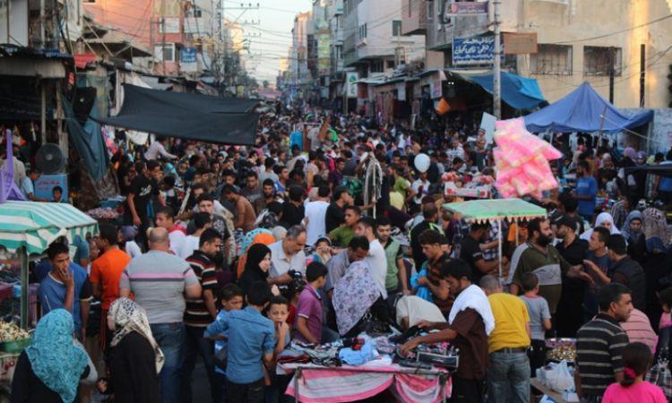 عيد كورونا في غزة