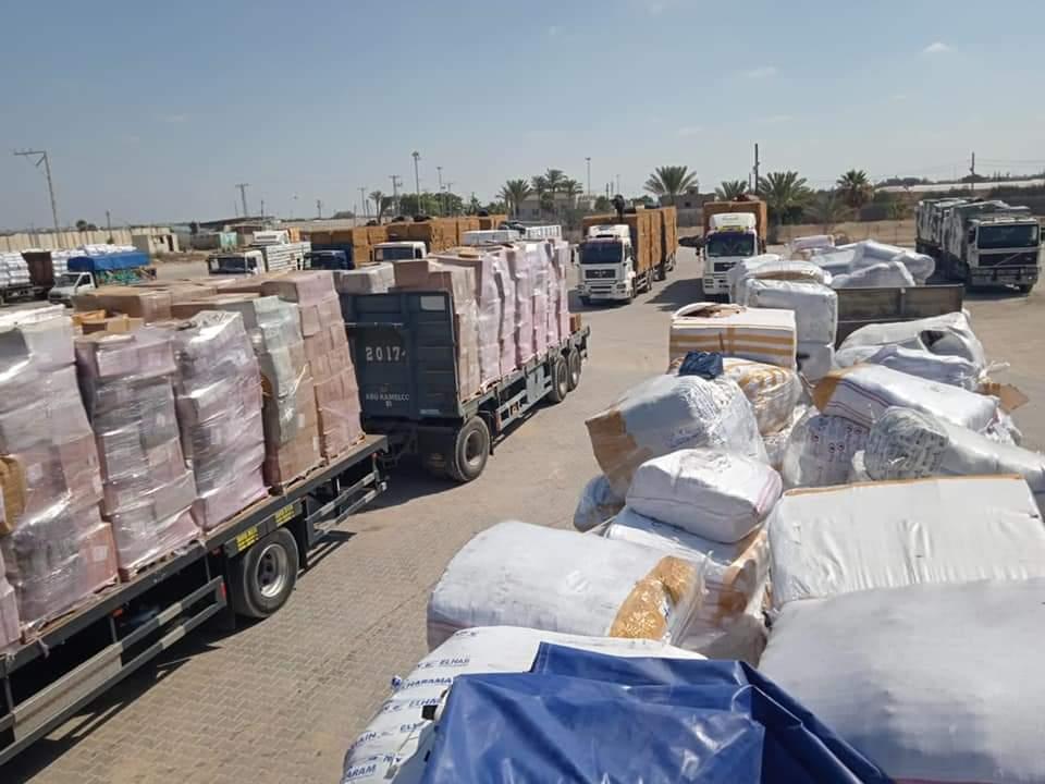 معبر كرم أبو سالم - اقتصاديون - وزارة الاقتصاد - كرم أبو سالم - عودة معابر غزة -كرم أبو سالم