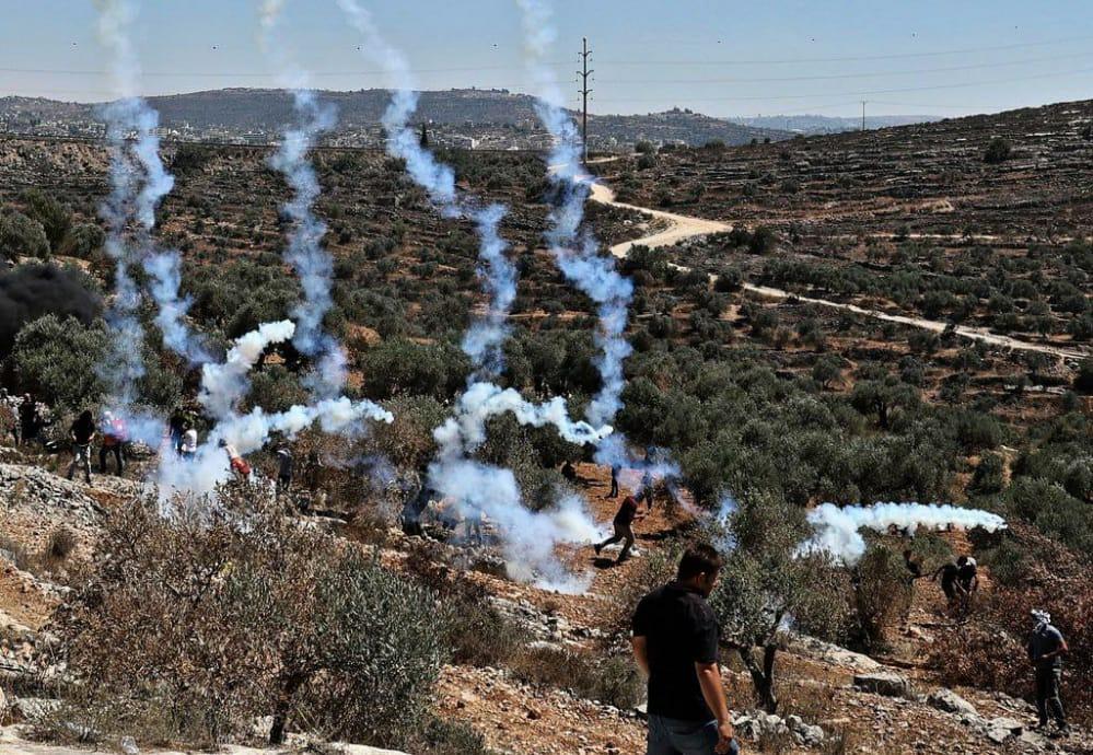 مواجهات بيتا جبل صبيح انتهاكات الاحتلال في الضفة