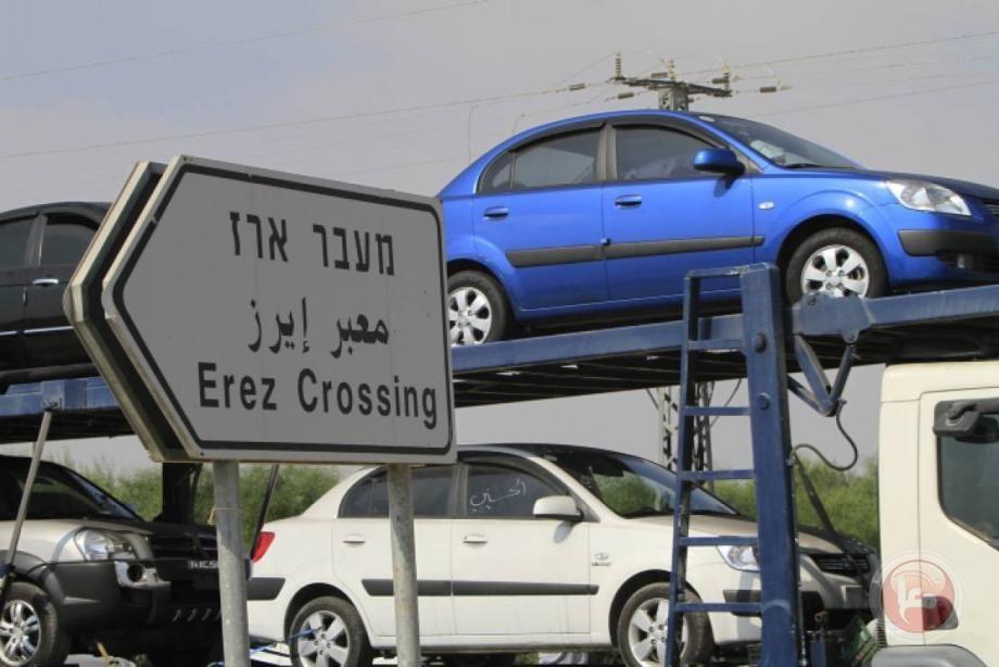 لأول مرة منذ العدوان الاحتلال يسمح بإدخال مركبات محتجزة عبر حاجز بيت حانون