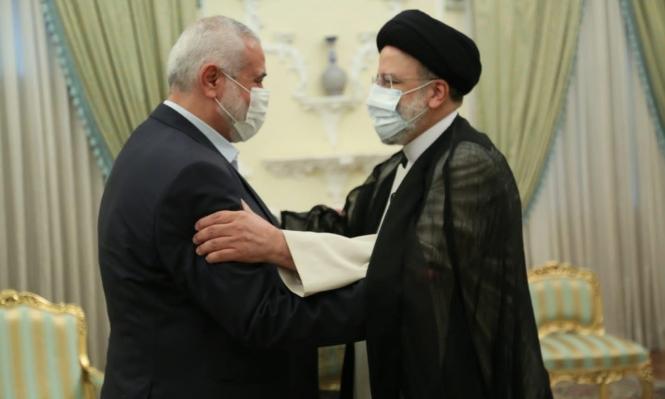 لقاء يجمع هنية برئيس إيران الجديد تخلله نقاش لعدة قضايا