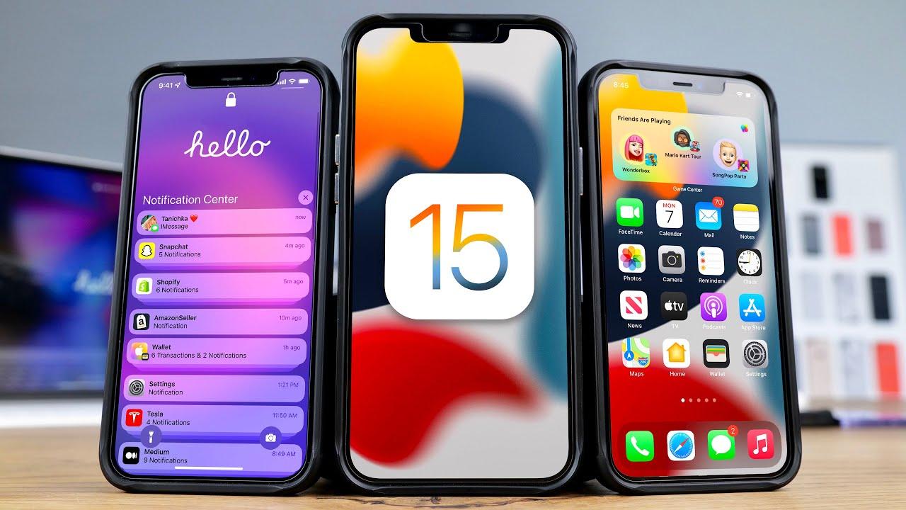 آبل تطلق تحديثها الجديد iOS 15 تعرّف على مزاياه