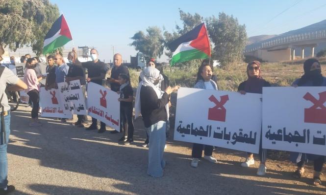 الداخل المحتل: مظاهرتان أمام سجن جلبوع وفي كفر كنا دعماً للأسرى